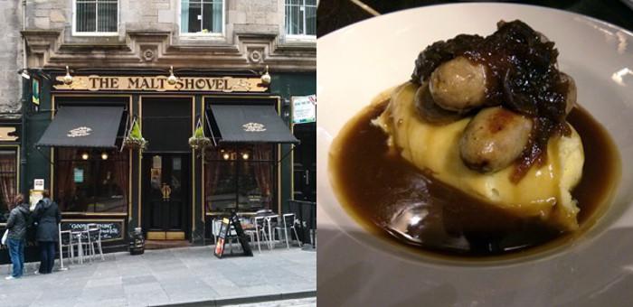 Malt Shovel Inn in Edinburgh