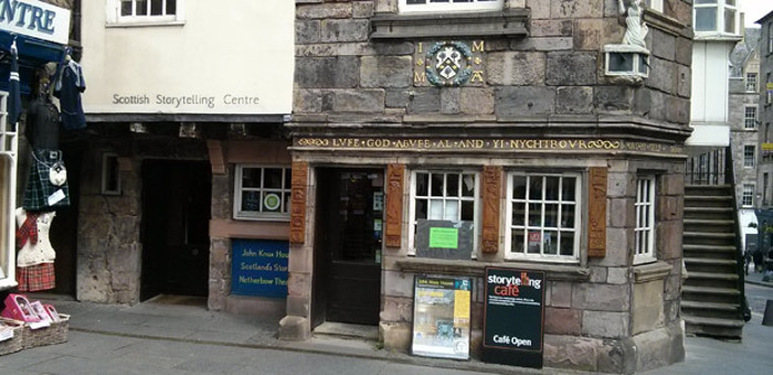 Scottish Storytelling Centre in Edinburgh