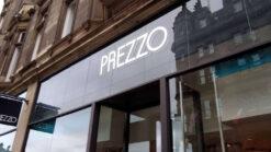 Prezzo restaurant sign