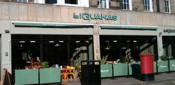 Las Iguanas Edinburgh