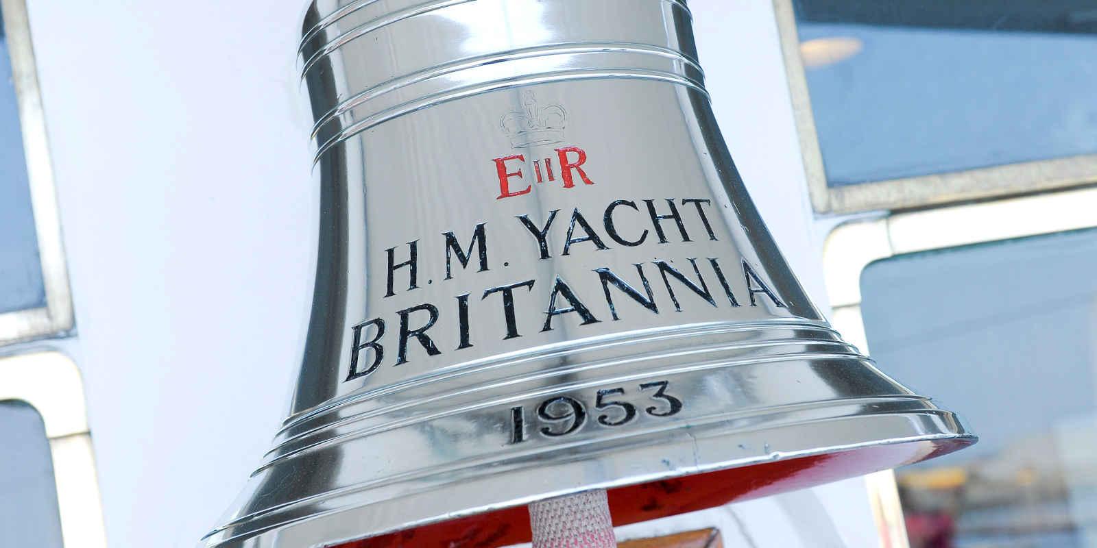 Bell on board Royal Yacht Britannia