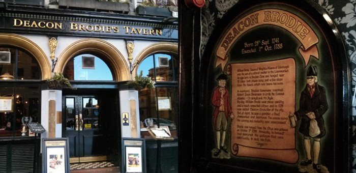 Deacon Brodies Tavern in Edinburgh