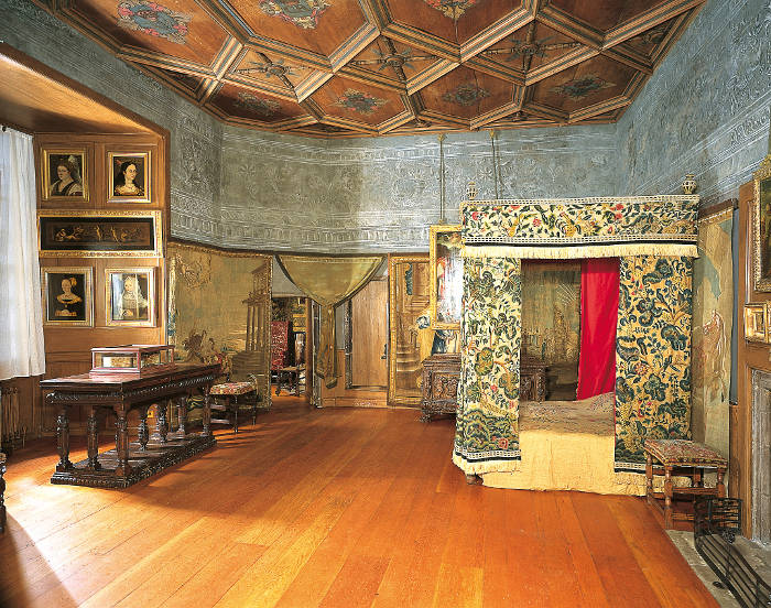 Mary Queen of Scots Bed Chamber
