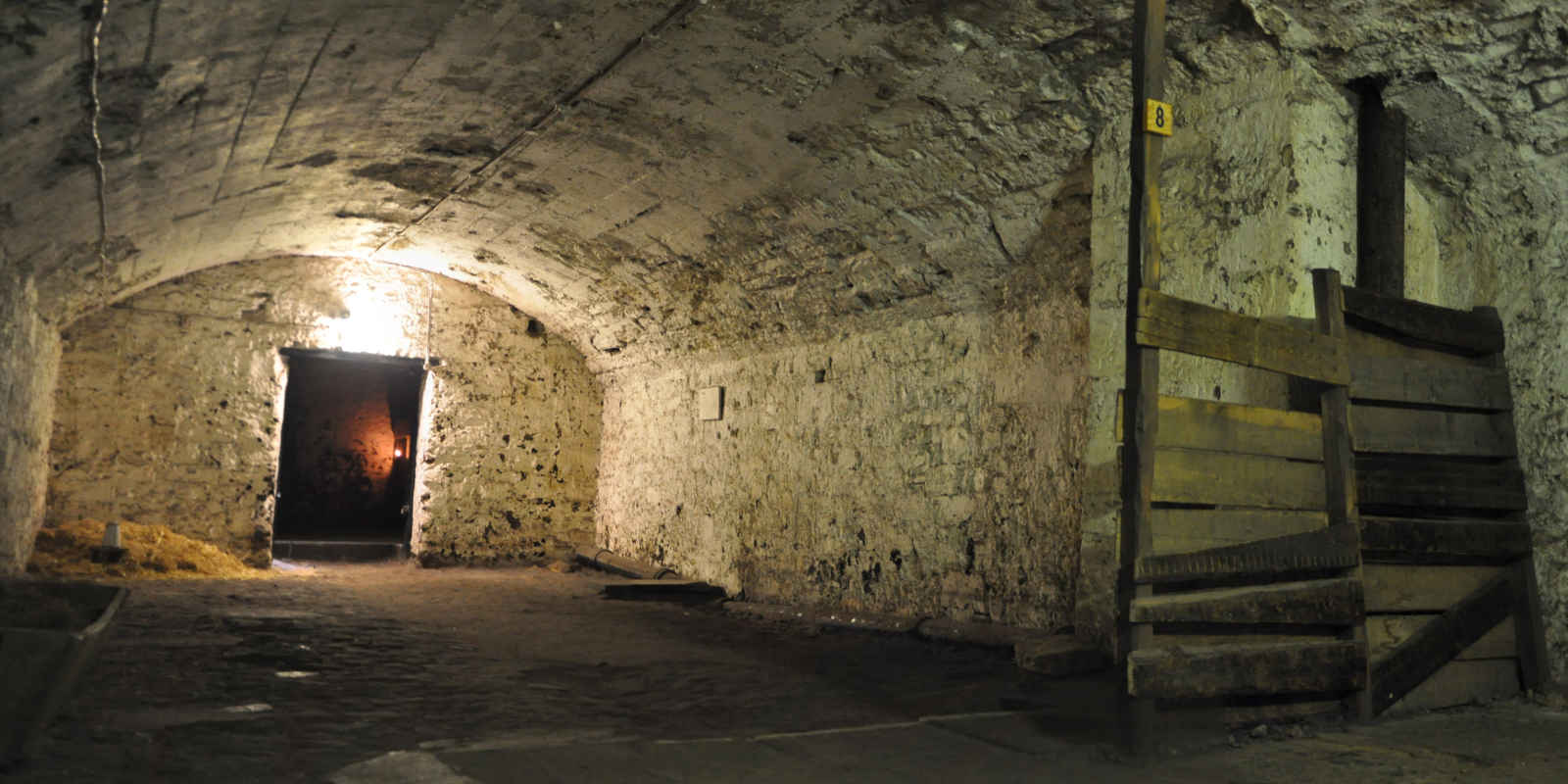 The Cow Shed underground room in Edinburgh