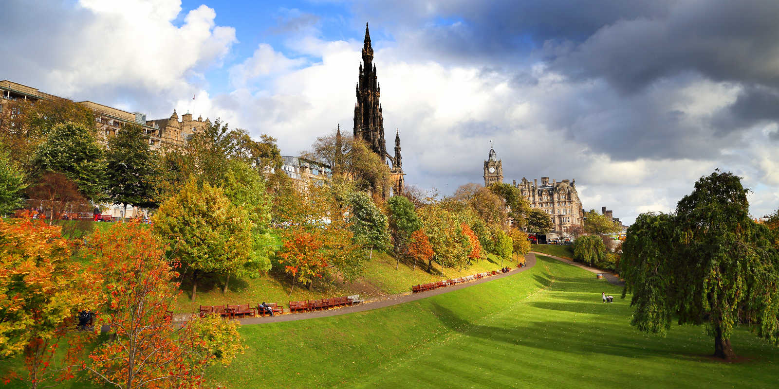 Princes Street Gardens Attractions | Edinburgh Tourist