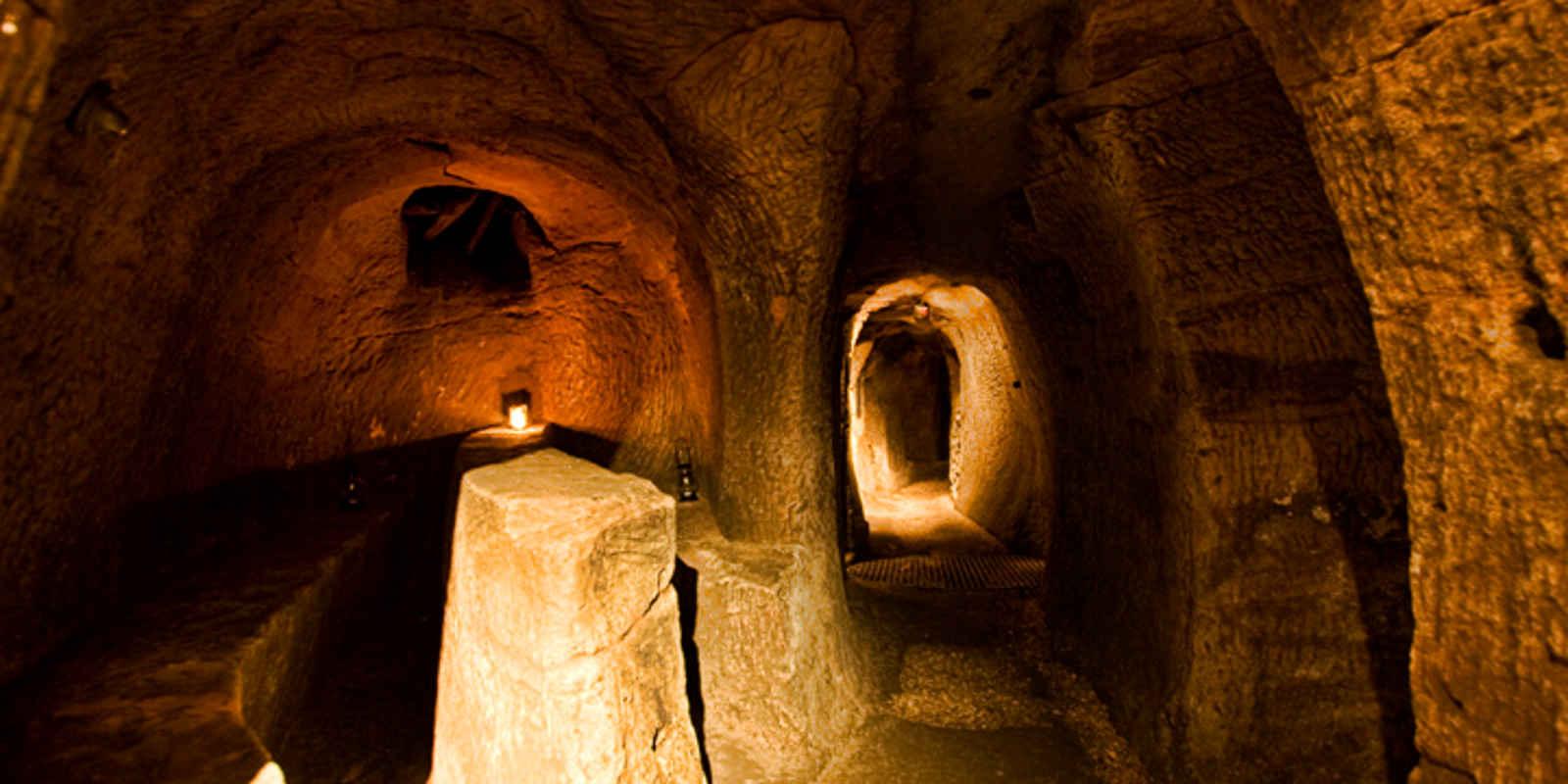 Underground chamber in Edinburgh