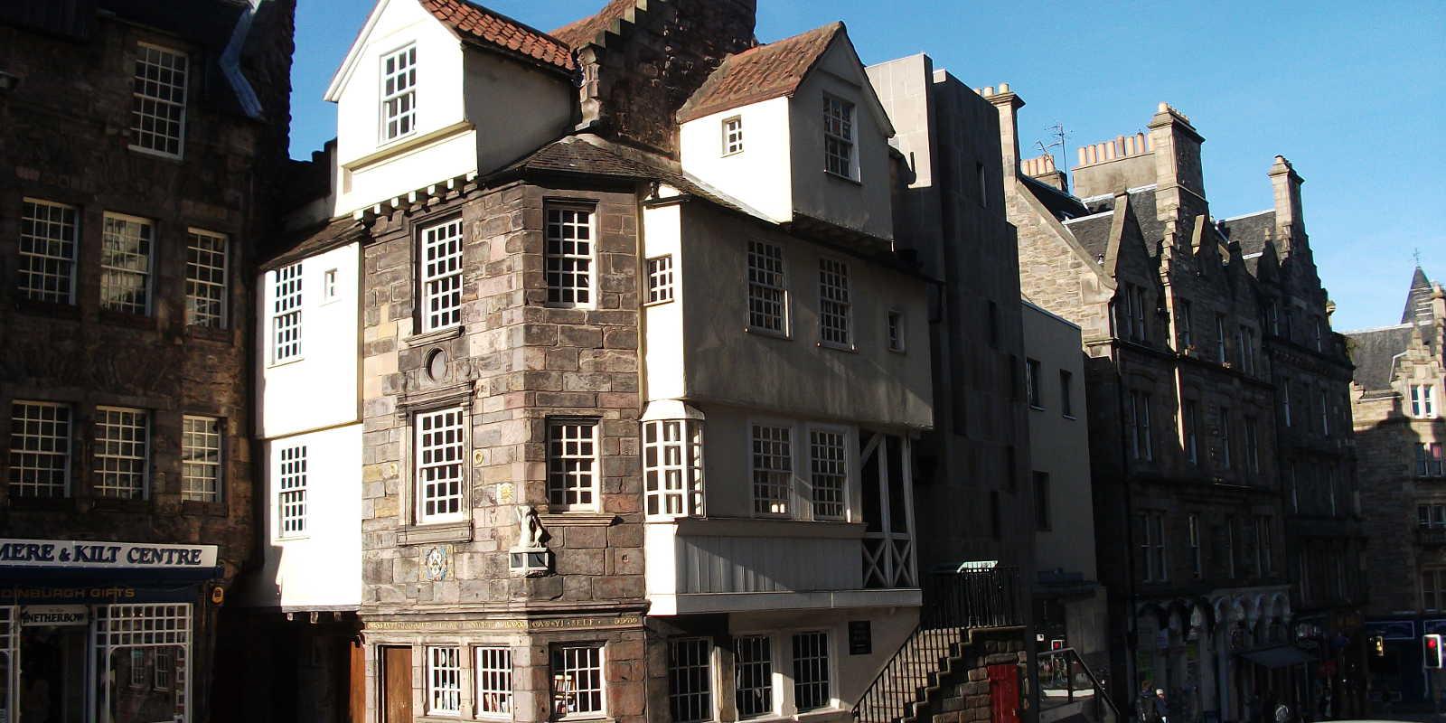 John Knox House on Edinburgh Royal Mile
