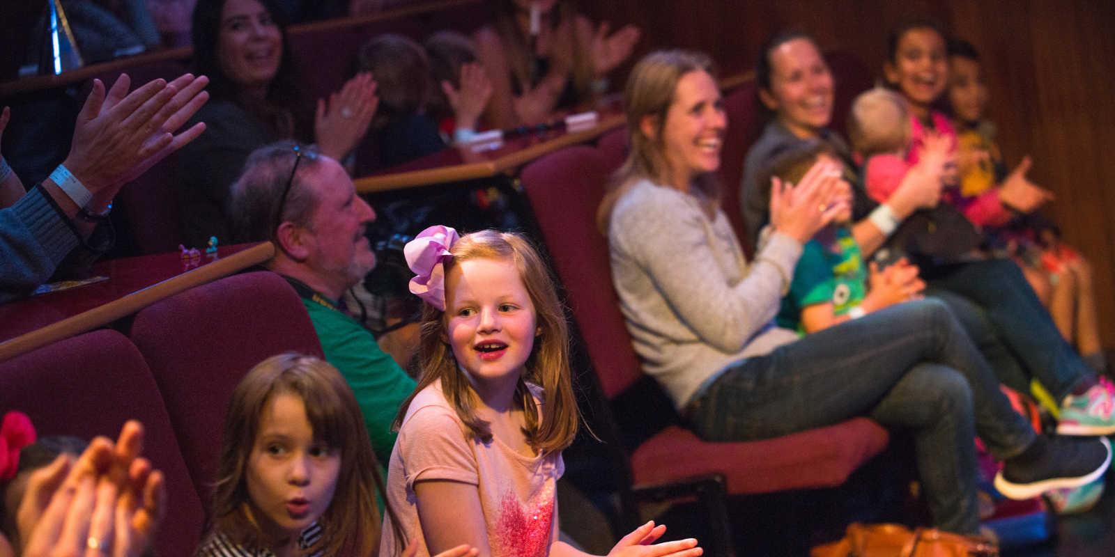 Audience at MagicFair Family Morning in Edinburgh
