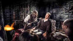 Edinburgh Dungeon attraction with audience participation