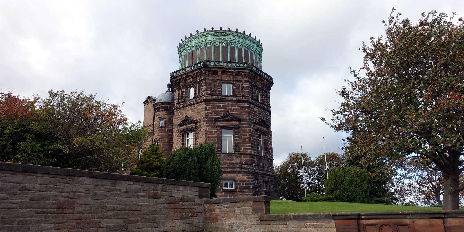 Observatory Tower on Blackford Hill in Edinburgh