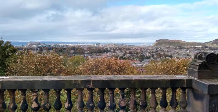 View of Edinburgh from the Royal Observatory Edinburgh