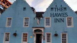The Hawes Inn pub in South Queensferry