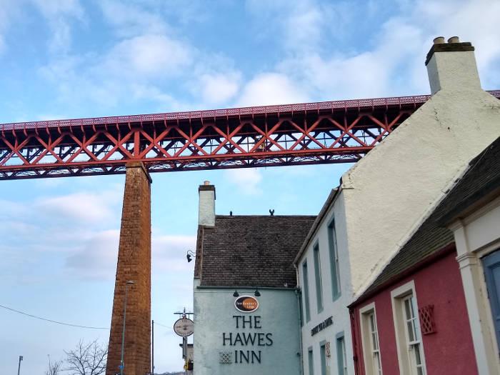 The Hawes Inn under Forth Rail Bridge in South Queensferry